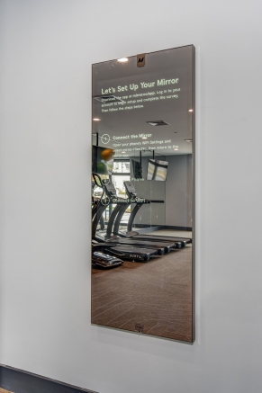 Centurion Union Fitness Center- Mirror